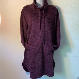 Anthro Ella Mara Cowl Neck sweater size Medium